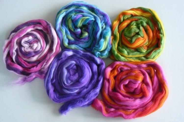 Multicolor Merinowol